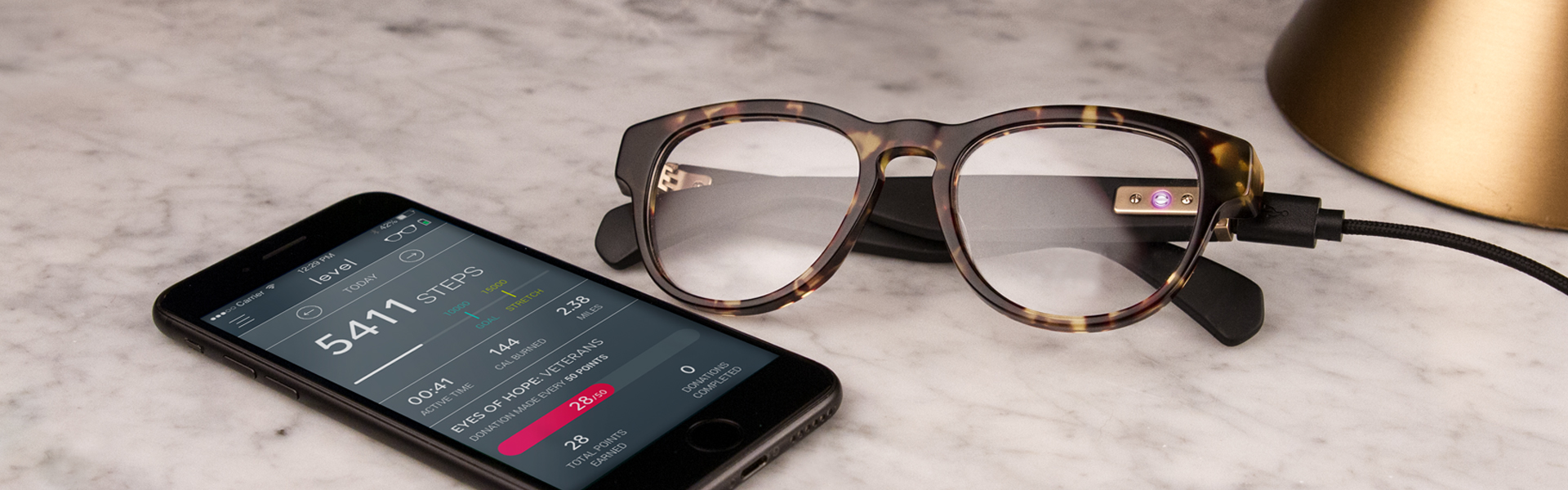 Smart Glasses with Activity Tracking Tech